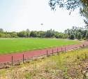 Завершается ремонт футбольного поля на стадионе «Металлург»