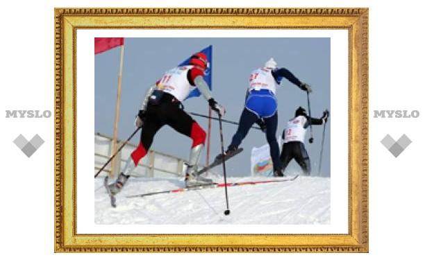 Тулячка участвовала в лыжном марафоне