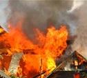 В Ефремовском районе при пожаре погиб мужчина
