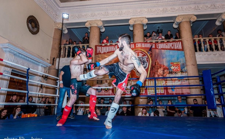 В Щёкино прошел турнир по смешанным единоборствам «Русский щит»