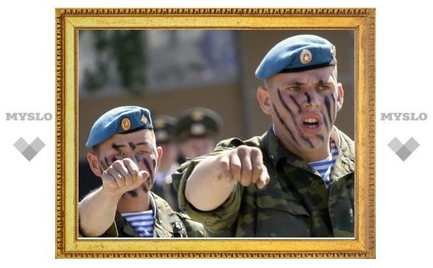 Тульских военных «бадминтонная лихорадка» не коснулась