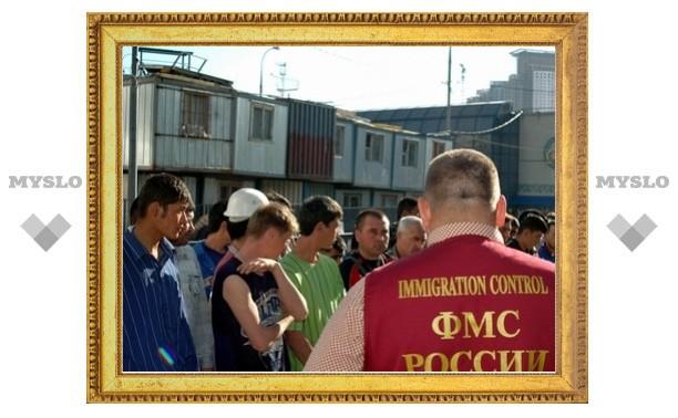 В Туле сократилось число мигрантов из СНГ