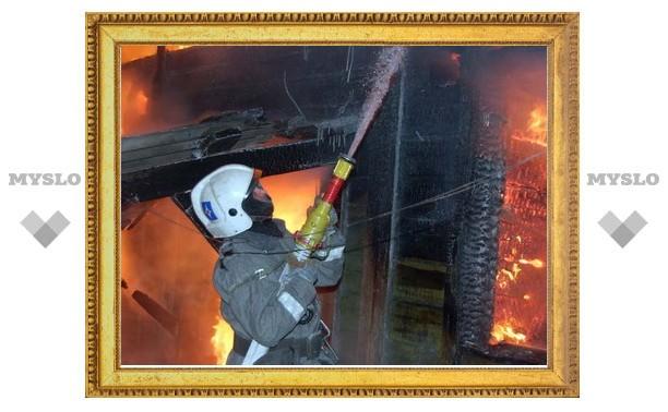 Пожарные спасли тульскую пятиэтажку