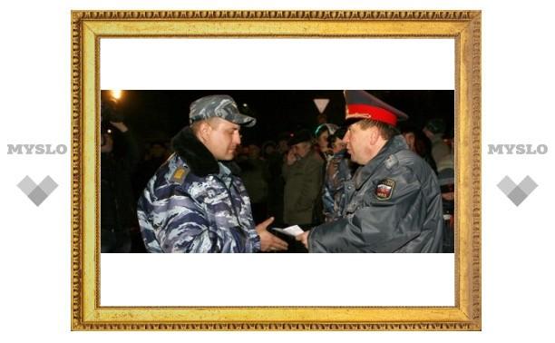 Тульские милиционеры вернулись из Чечни