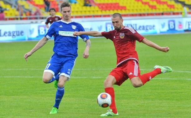«Арсенал» одержал победу над иркутским «Байкалом» со счётом 2:1