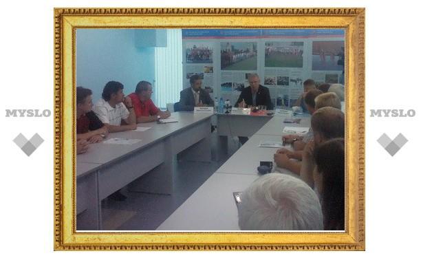 Вячеслав Фетисов пообещал тулякам провести мастер-класс