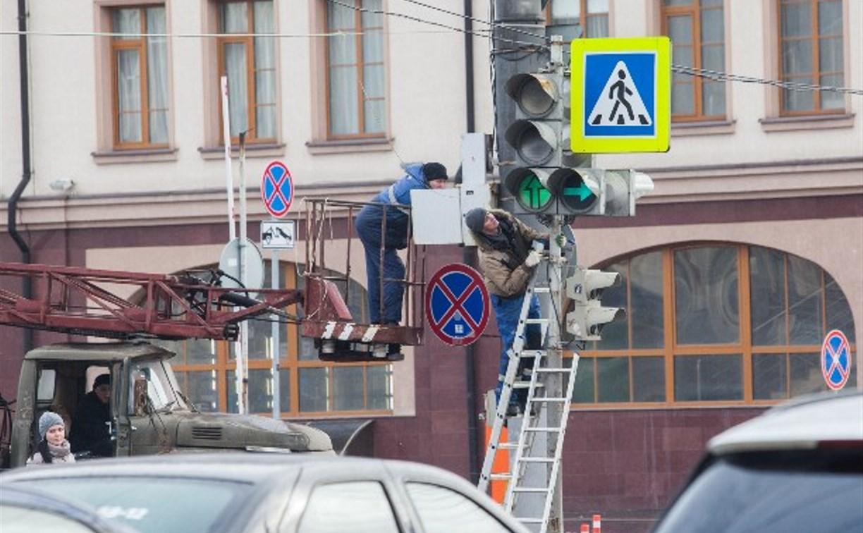За год в Тульской области установили 151 светофор