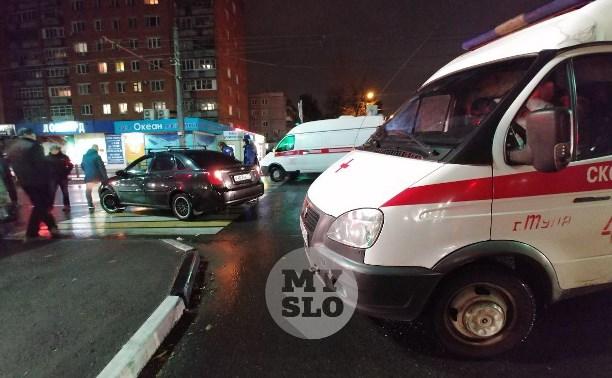 На улице Ложевой в Туле сбили женщину