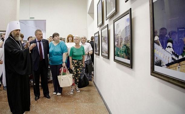 В Туле открылась выставка «Святая Гора Афон и Монастыри России»