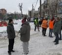 Сотрудники администрации Тулы проинспектировали уборку снега в городе