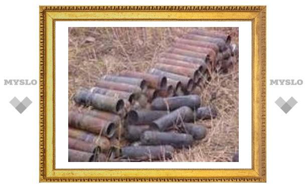 В Туле не будут утилизировать боеприпасы