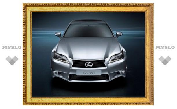 Опубликованы официальные фотографии нового Lexus GS