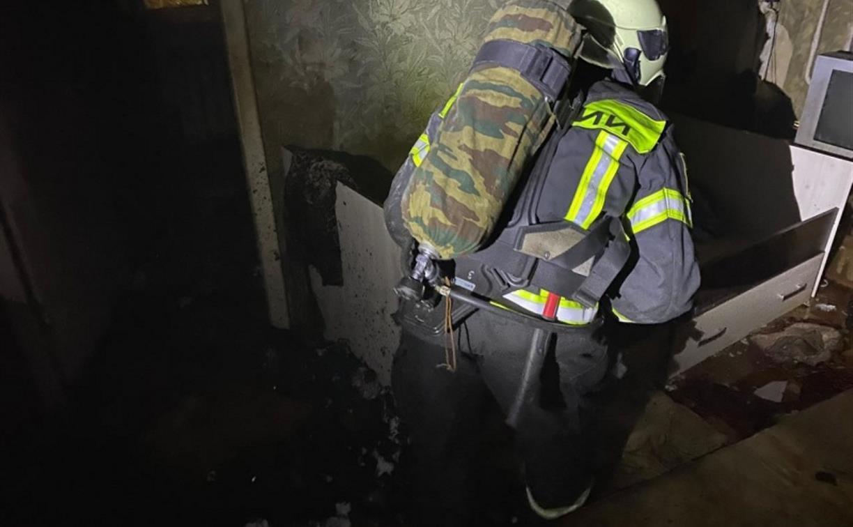 В Тульской области за сутки произошло 10 пожаров