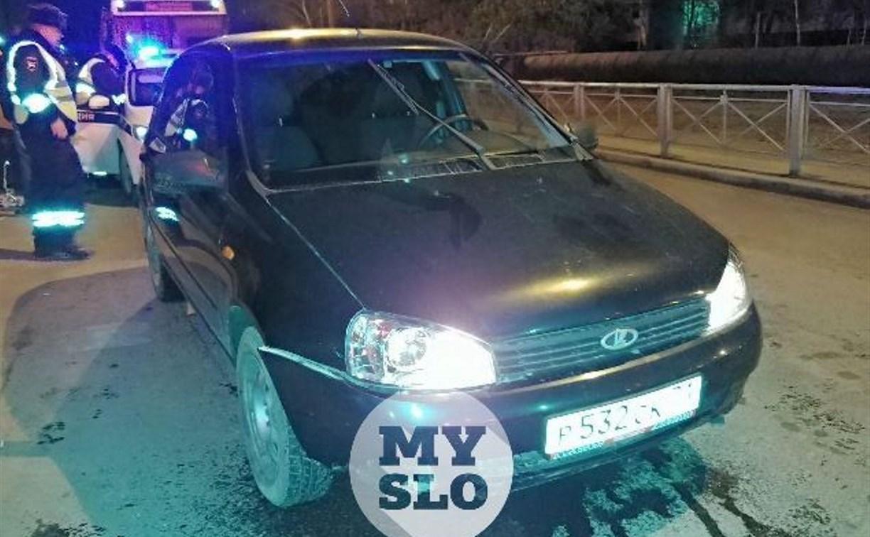 В Туле гаишники устроили долгую погоню за пьяным водителем на Lada Kalina