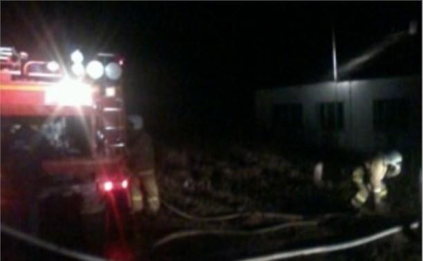 На пожаре в селе Никольское погиб 55-летний мужчина