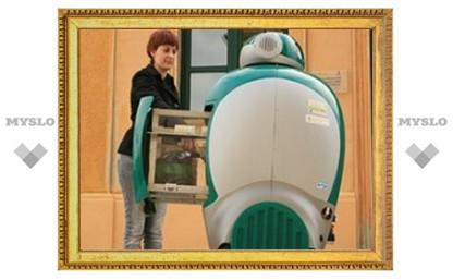 Тульским чиновникам покажут робота