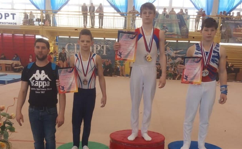 Тульские гимнасты успешно выступили на Всероссийских соревнованиях