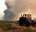 Плавский тракторист спас односельчан от пожара