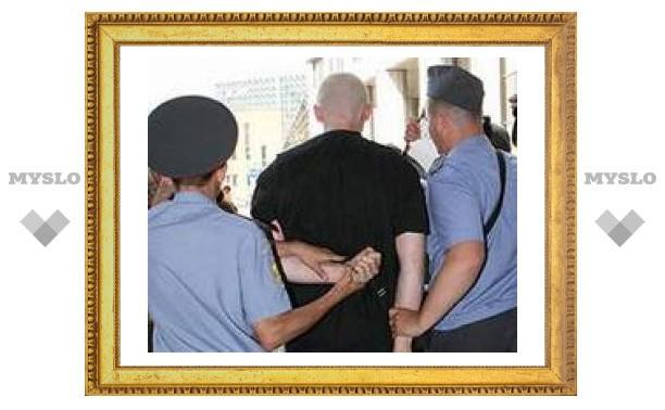 В Туле арестовали милиционера