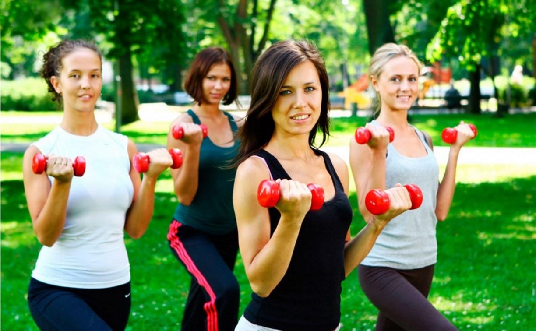 В Центральном парке пройдет фитнес-зарядка