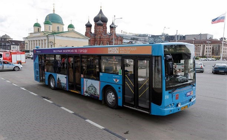 Как будет ходить тульский экскурсионный автобус