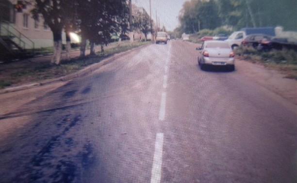 В Новомосковске «Ниссан» сбил пешехода