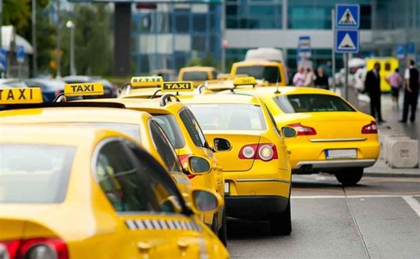 Тульское такси окрасят в два цвета