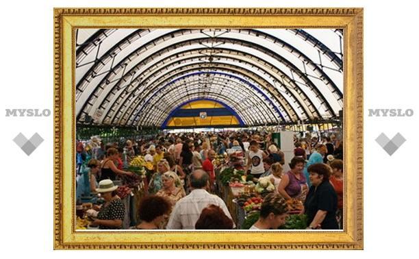 Тульский рынок на ул. Седова уйдет под крышу