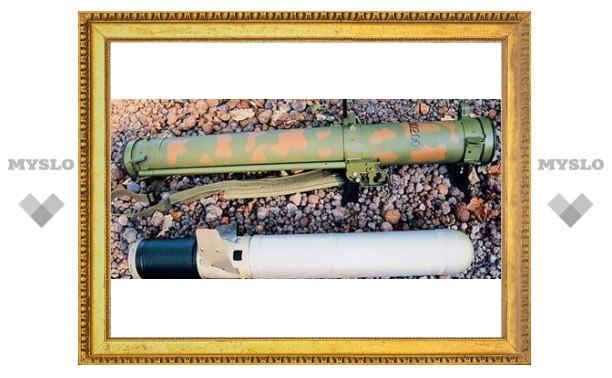 У террористов нашли тульское оружие