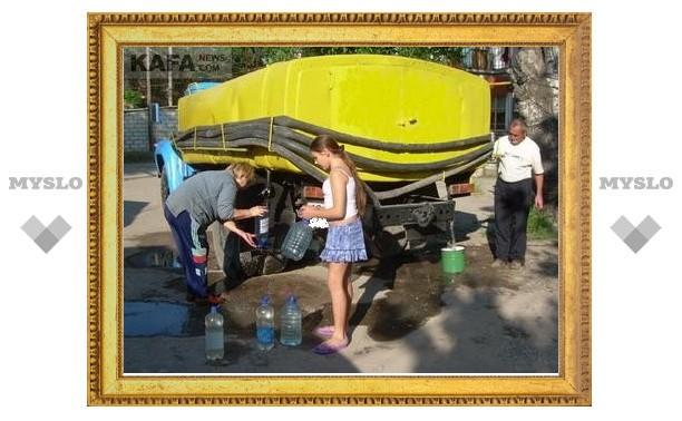 Коммунальщики под Тулой незаконно отключают воду в поселках