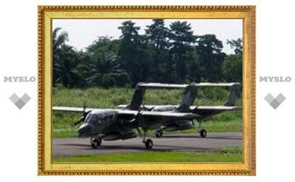 Самолет ВВС Индонезии после взлета взорвался