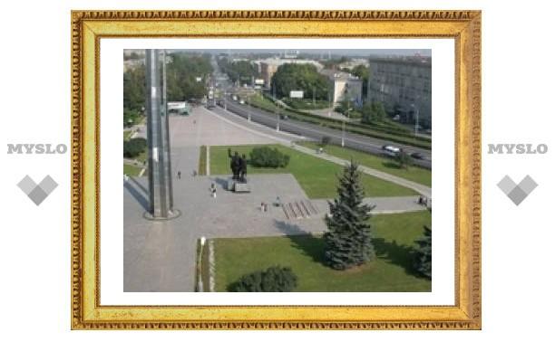 Площадь Победы в Туле перестраивают