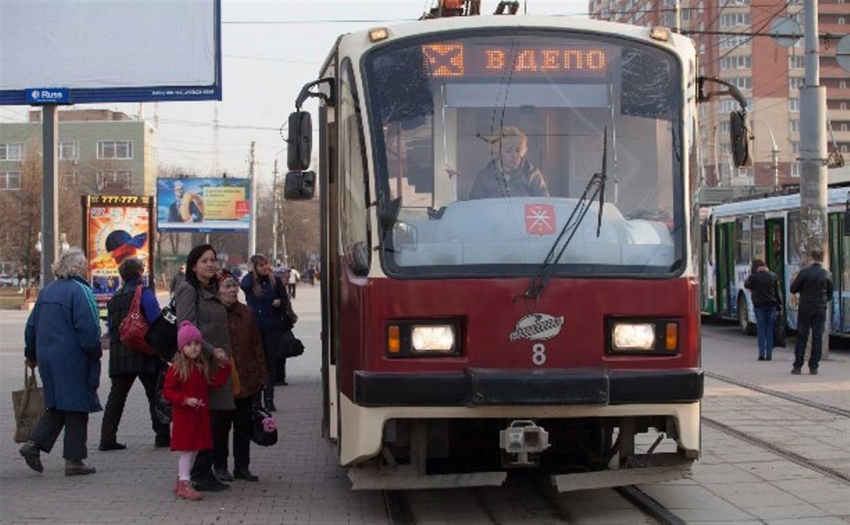В Туле сократили число трамваев на маршрутах №6 и №15