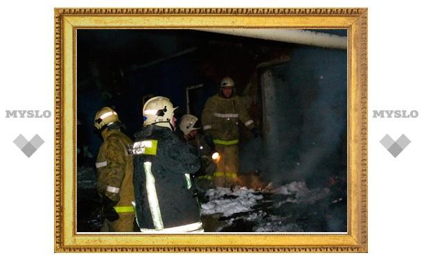 СУ СКР по Тульской области: в Ленинском районе в результате пожара погибли шесть человек