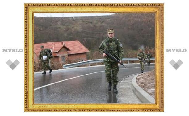 НАТО направило миротворцев к спорному КПП на севере Косово