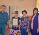 В Щекино третьеклассница спасла семью во время пожара