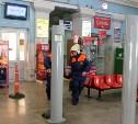 Сотрудники тульского МЧС провели учения на автовокзале