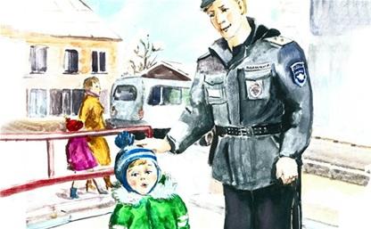 В конкурсе «полицейских» плакатов стартовало голосование