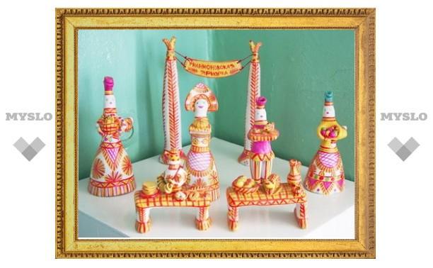 Тульские игрушки выставлены в Брюсселе