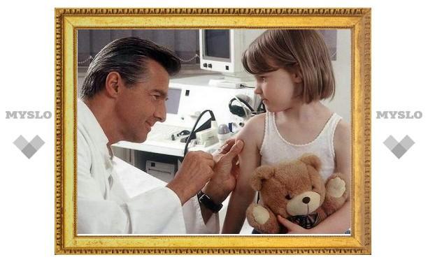 Юным тулякам сделают прививку вакциной последнего поколения