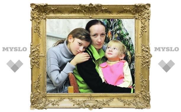Тулячку с двумя детьми выселяют под Новый год