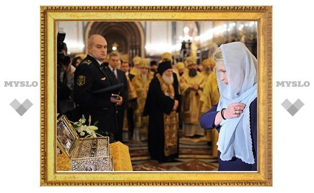 Новомосковск обрел святые реликвии