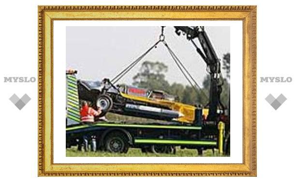 Знаменитый автомобиль Vampire, на котором разбился ведущий Top Gear, продадут с аукциона