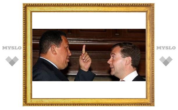 Туляки сделают оружие для Уго Чавеса?