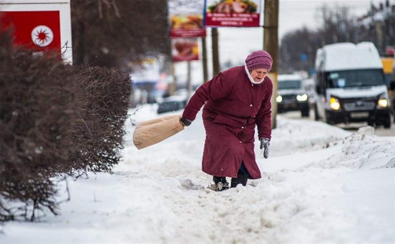 Жители Тулы и области активно жалуются на неубранный снег через портал «Открытый регион»