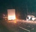 В аварии с фурой на М4 погиб водитель легковушки