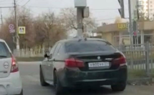 «Накажи автохама»: парковка BMW по-тульски