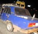 На трассе в Тульской области «семерка» протаранила грузовик