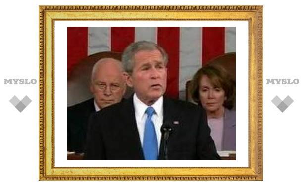 Джордж Буш обратился к согражданам с ежегодным посланием