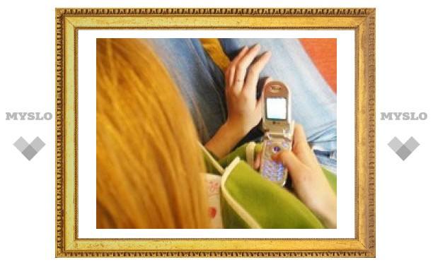 SMS у женщин длиннее, чем у мужчин